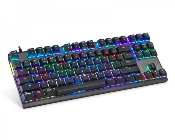 MOTOSPEED K82 mehanička crna tastatura plavi prekidač