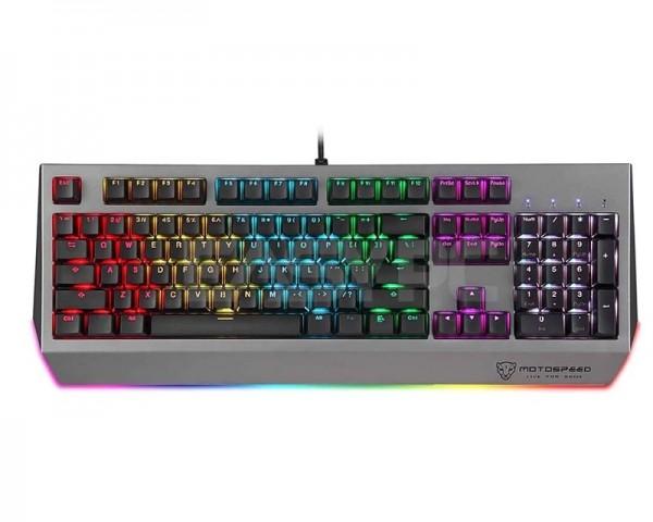 MOTOSPEED K99 RGB siva mehanička tastatura plavi prekidač