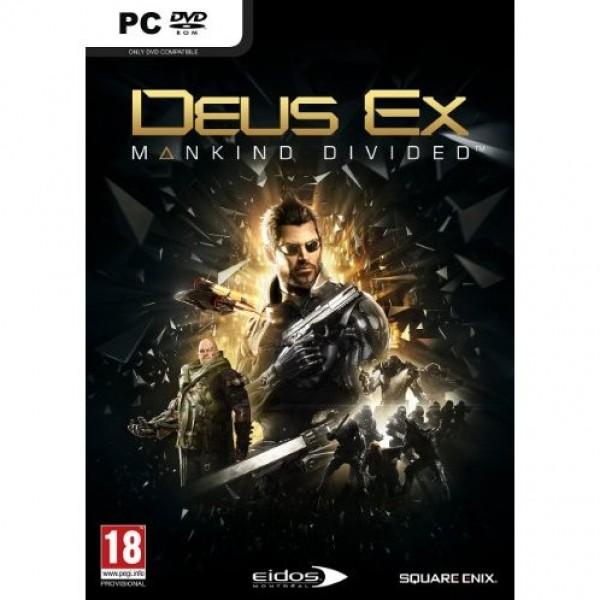 PC Deus Ex: Mankind Divided + Mini Adam figurine (  )
