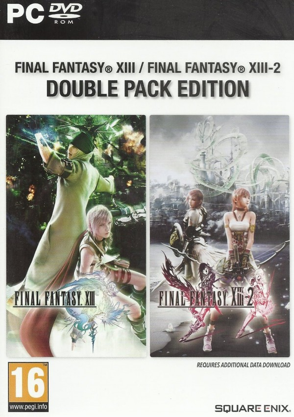 PC Final Fantasy XIII XIII-2 Double Pack ( SF132VEN30 )