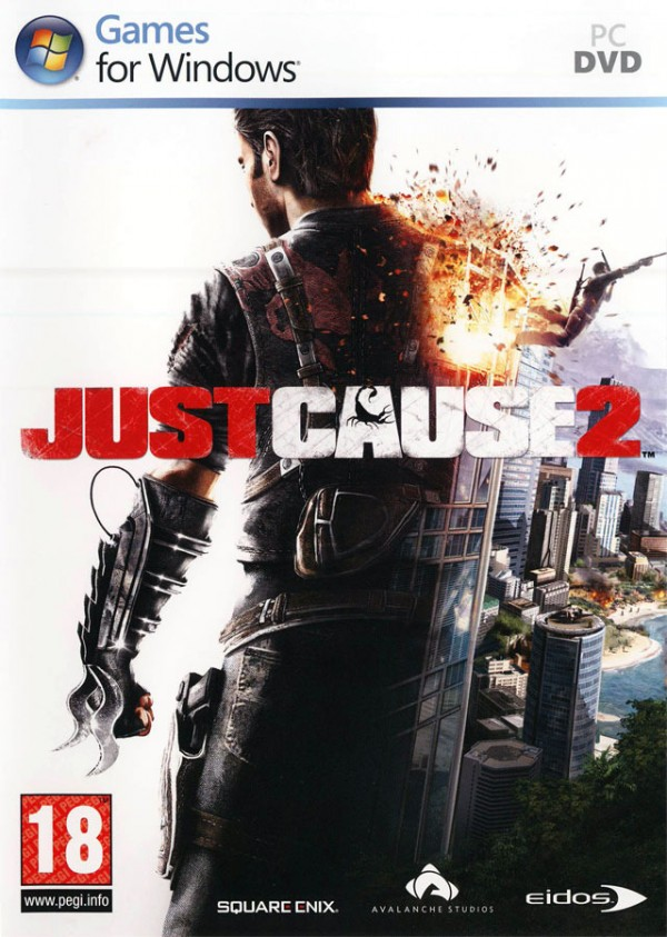 PC Just Cause Masterpiece ( Just Cause + Just Cause 2 ) ( SJCMHVEX01 )