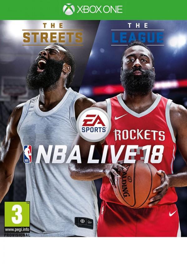 XBOXONE NBA LIVE 18: The One Edition ( E02437 )