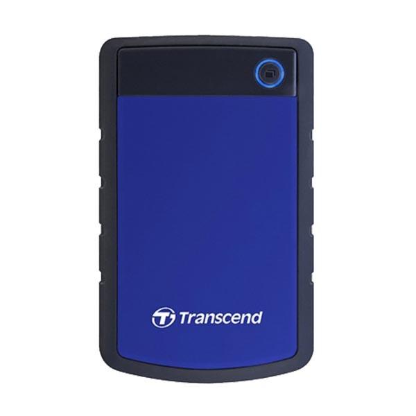 External HDD 1 TB, H3B , USB3.0, 2.5'', Anti-shock system, Backup software, 216 gr, Black/Blue ( TS1TSJ25H3B )