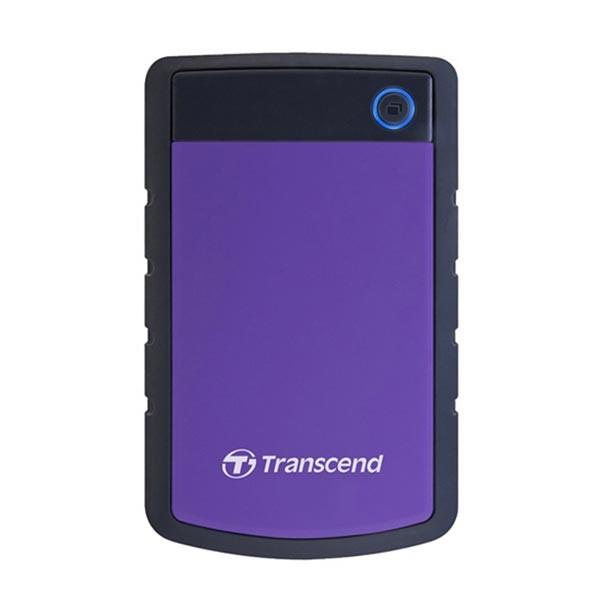 External HDD 1 TB, H3P , USB3.0, 2.5'', Anti-shock system, Backup software, 216 gr, Black/Purple ( TS1TSJ25H3P )