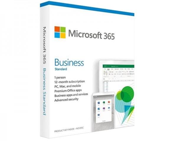 MICROSOFT Microsoft 365 Business Standard Retail Eng Sub1YR CEE Only Mdls P6 KLQ-00501