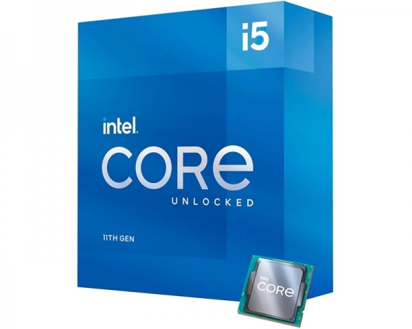 INTEL Core i5-11600K 6-Core 3.9GHz (4.90GHz) Box