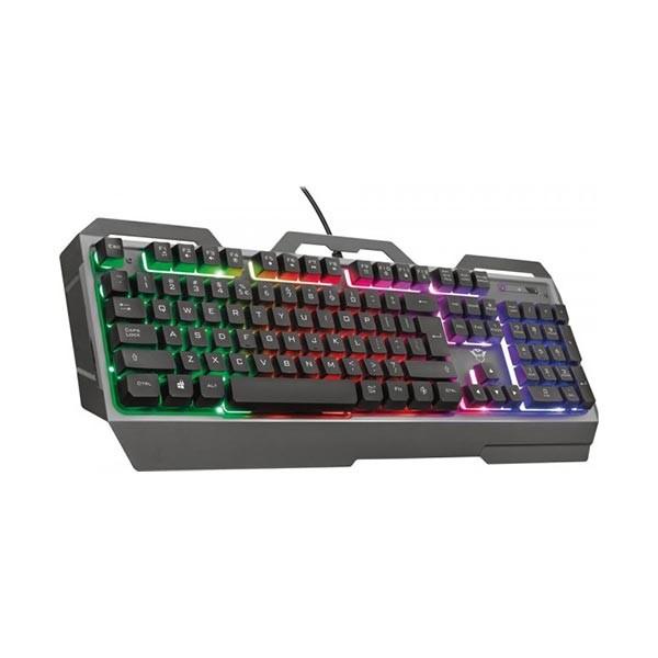 Trust tastatura GXT856TORAC Metal, gaming, crna' ( '23577' )