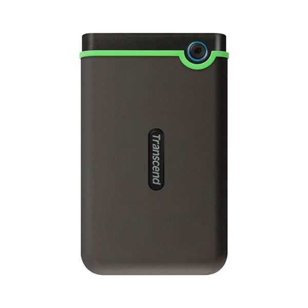External HDD 2 TB Slim form factor, M3S, USB 3.1, 2.5, Anti-shock system, Backup software, 185g, Iron gray (Slim) ( TS2TSJ25M3S )