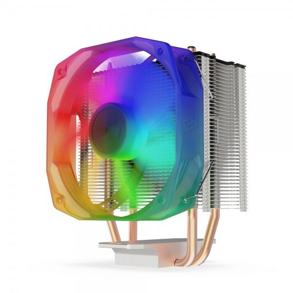 SilentiumPC CPU kuler Spartan 4 EVO ARGB 12001151505556AM4AM3(+)AM2(+)FM2(+)FM1 crni' ( 'SPC271' )