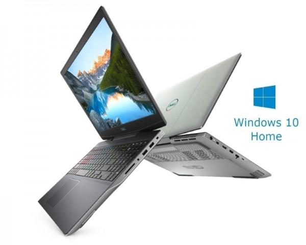 DELL OEM G5 5505 15.6'' FHD AMD Ryzen 5 4600H 8GB 256 SSD Radeon RX 5600M 6GB Backlit Win10Home sivi