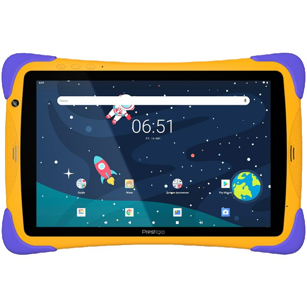 Prestigio SmartKids UP, 10.1'' (1280*800) IPS display, Android 10 (Go edition), up to 1.5GHz Quad Core RK3326 CPU, 1GB + 16GB, BT 4.0, WiFi,