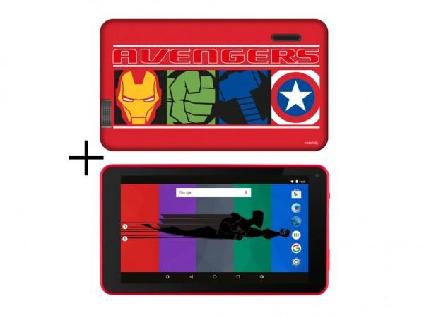 Tablet ESTAR Themed Avengers 7399 HD 7''QC 1.3GHz2GB16GBWiFi0.3MPAndroid 9crvena' ( 'ES-TH3-AVENGERS-7399' )