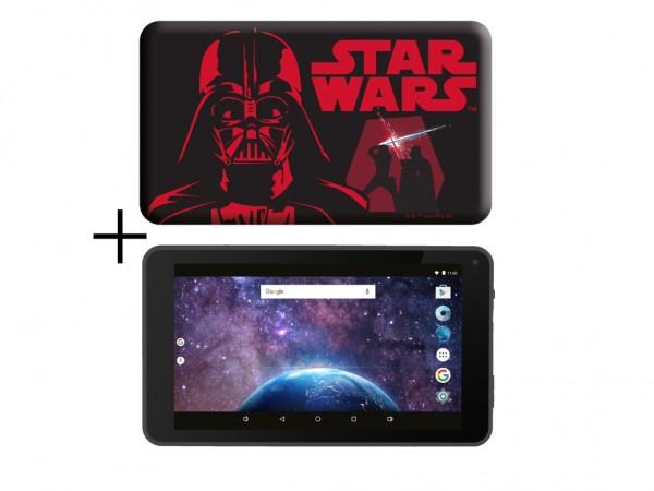 eSTAR Themed Tablet StarWars 7399 7'' ARM A7 QC 1.3GHz2GB16GB0.3MPWiFiAndroid 9SWars Futrola' ( 'ES-TH3-SWARS-7399' )