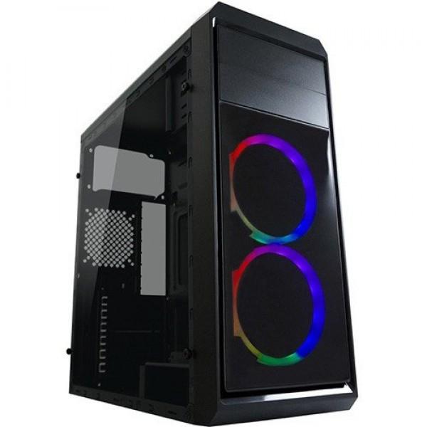 TOWER LC Power Gaming 999B-ON Phantasm 2xUSB3.0 Black RGB Fan