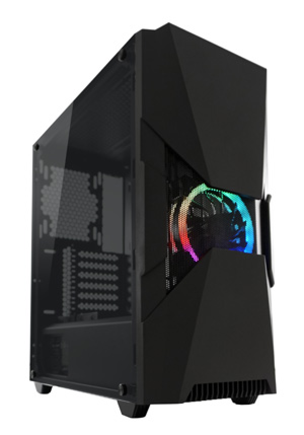 TOWER LC Power Gaming 704B-ON Dark_Eye_X 2xUSB3.0/1xUSB2.0 Black
