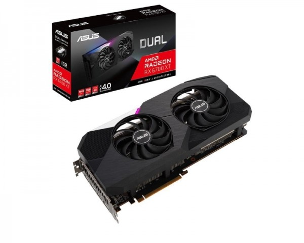 ASUS AMD Radeon RX 6700 XT 12GB DUAL-RX6700XT-12G