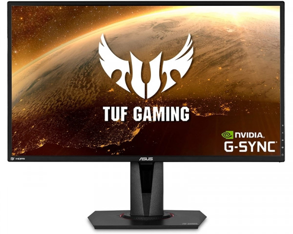 ASUS 27'' VG27AQ WQHD 165Hz G-sync TUF Gaming monitor crni