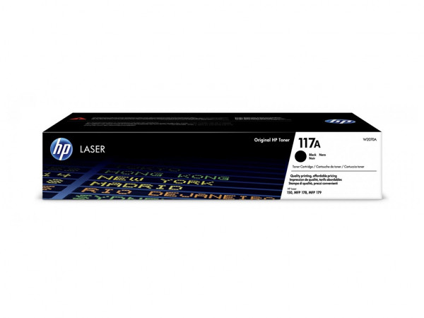 Toner HP 117Acrna' ( 'W2070A' )