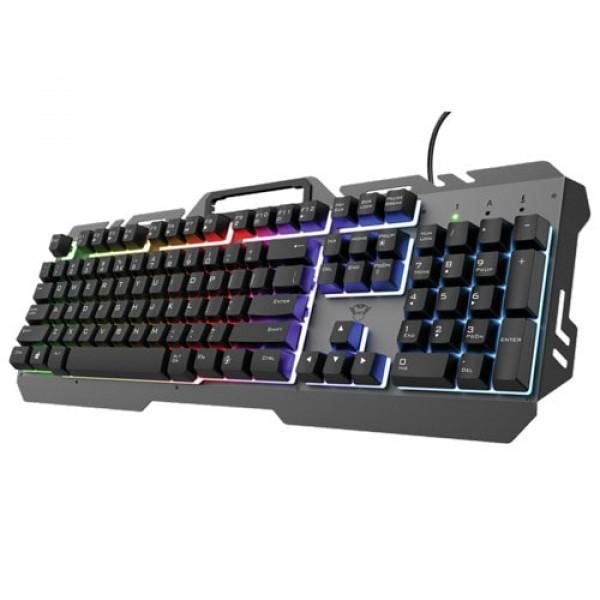Trust tastatura GXT853 ESCA Metal, gaming, crna' ( '23796' )