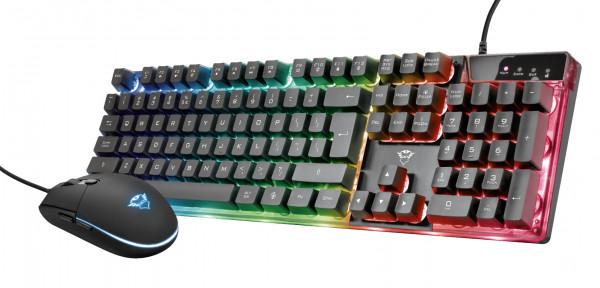 Trust tastatura+miš GXT 838 AZOR, gaming, crna' ( '23289' )