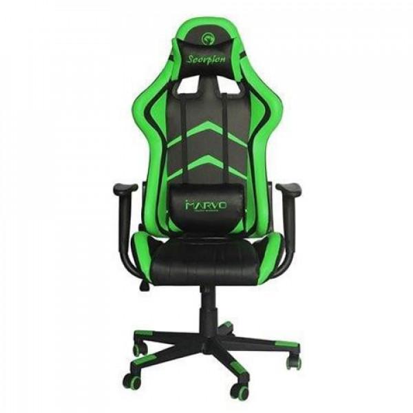 Gejmerska stolica MARVO CH106 zelena