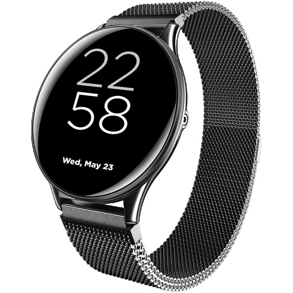 CANYON Lemongrass SW-70 Smart watch, 1.3inches IPS full touch screen, Zinc plastic body,IP68 waterproof, multi-sport mode with swimming mod