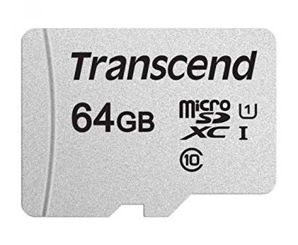 Micro SD Transcend 64GB TS64GUSD300S