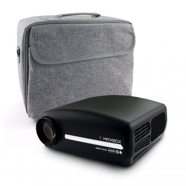 Projektor MAXBOX Z4 Full HD, Android, Wi-Fi + torba