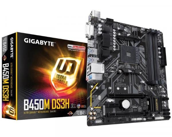 GIGABYTE B450M DS3H rev.1.1