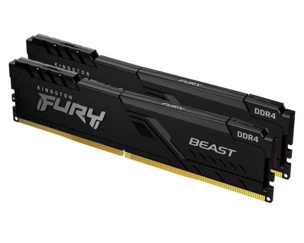 KINGSTON DIMM DDR4 64GB (2x32GB kit) 3600MHz KF436C18BBK264 Fury Beast Black