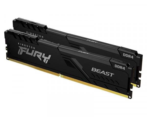 KINGSTON DIMM DDR4 64GB (2x32GB kit) 3200MHz KF432C16BBK264 Fury Beast Black
