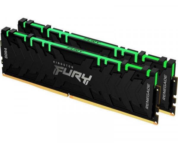 KINGSTON DIMM DDR4 64GB (2x32GB kit) 3200MHz KF432C16RBAK264 Fury Renegade RGB