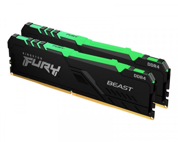 KINGSTON DIMM DDR4 16GB (2x8GB kit) 4000MHz KF440C19RBAK216 Fury Renegade RGB