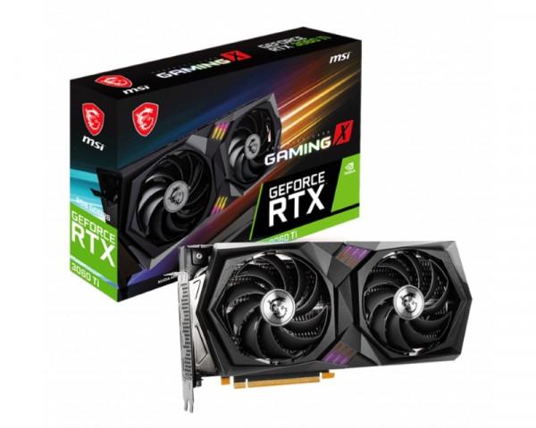 MSI nVidia GeForce RTX 3060 Ti 8GB 256bit RTX 3060 Ti GAMING X 8G LHR