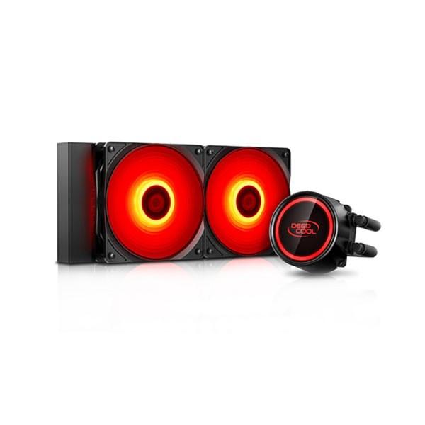 Kuler DeepCool GAMMAXX L240T Liquid cooling Red