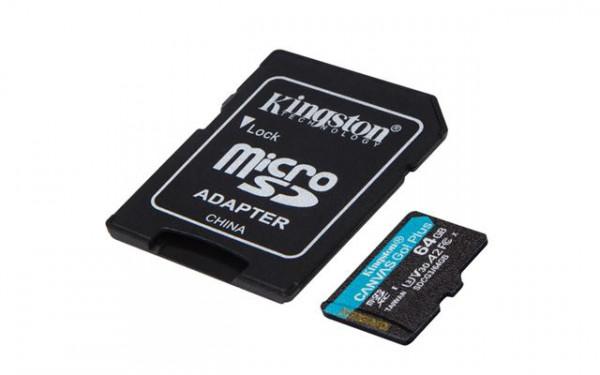 Memorijska kartica  Kingston SD MICRO 64GB HC  +ad UHS-I U3