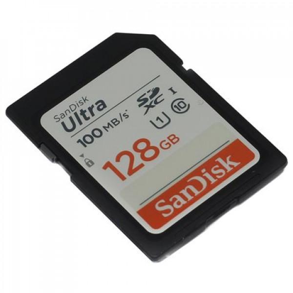 Memorijska kartica SanDisk Ultra SDXC U1 128GB