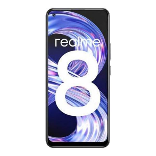 REALME 8 (Crna), 6,4'', 464GB, 64 Mpix + 8 Mpix + 2 Mpix + 2 Mpix