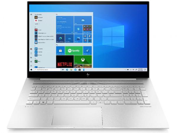 Laptop HP Envy 17-ch0010nm Win 10 Pro17.3''FHD AG IPSi7-1165G78GB512GBFPR3gsrebrna' ( '4Q638EA' )