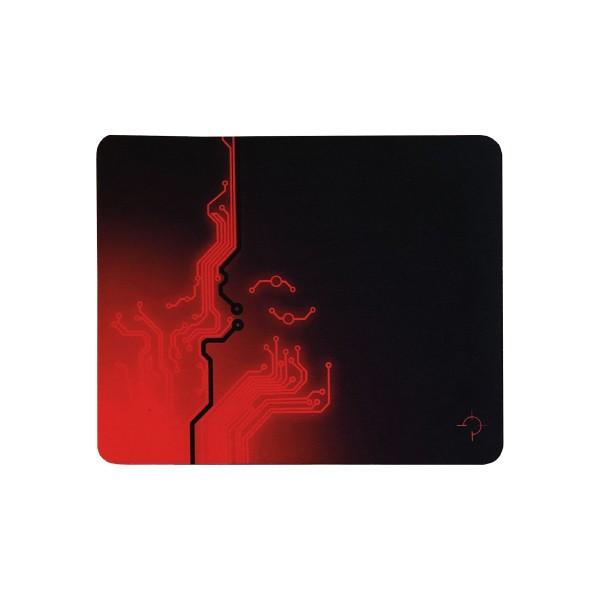 Podloga za miš Shooter 260x210 Black-Red rubber