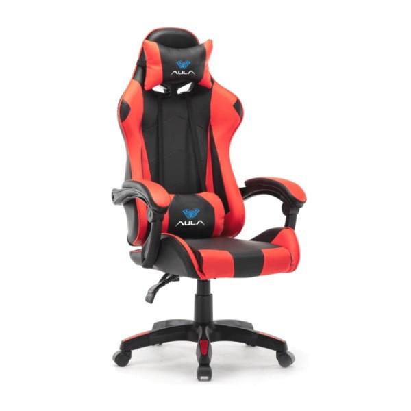 Gaming stolica AULA F8093 crveno-crna