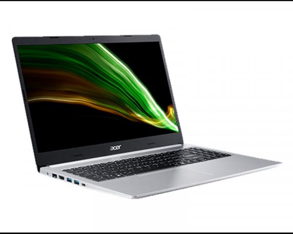 ACER Aspire A515 15.6'' FHD AMD Ryzen 5 5500U 8GB 256GB SSD Pure srebrni