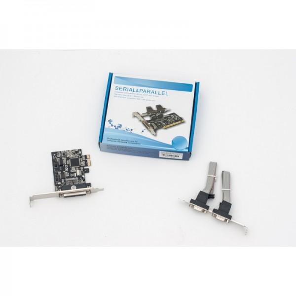 Kontr.PCIex GC LPT+2xRS232 LP