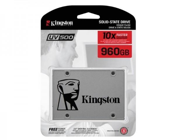 KINGSTON 960GB 2.5'' SATA III SUV500960G SSDNow UV500 series