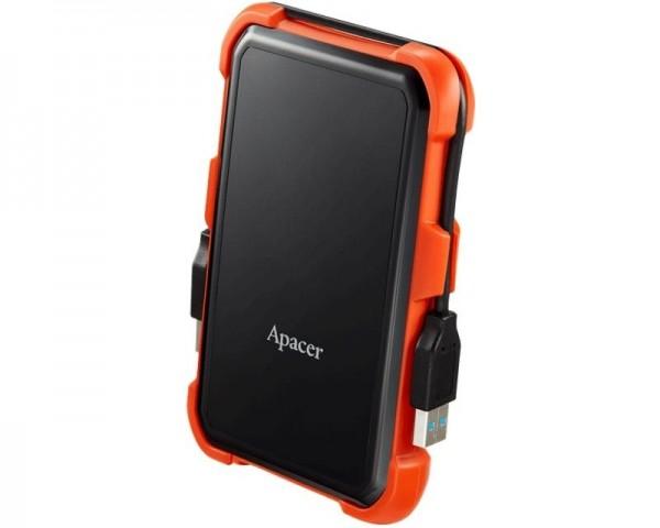 APACER AC630 2TB 2.5'' sivi eksterni hard disk crno narandzasti AP2TBAC630T-1