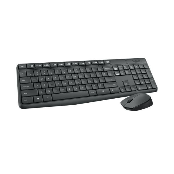 KB Logitech Cord.Set MK235 US