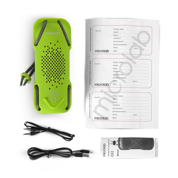 Zvučnik Microlab D22 Bluetooth rubber zeleni