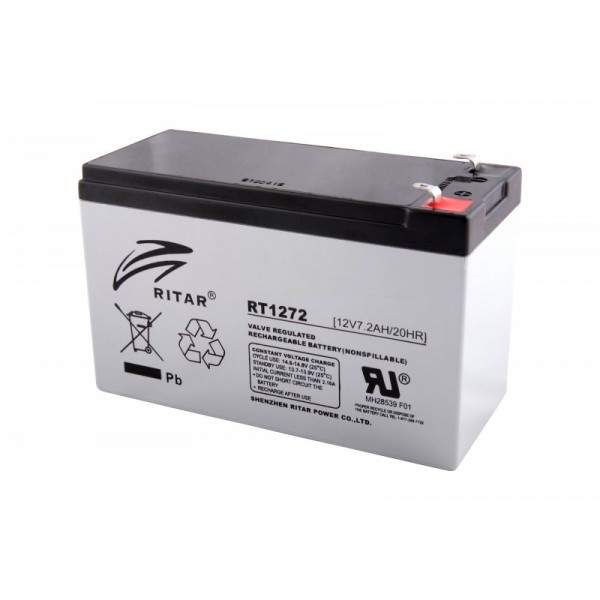 Baterija UPS Ritar RT 1272 12V 7.2Ah