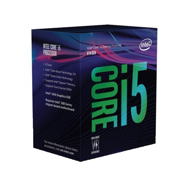 Cpu Intel i5-8600 Box