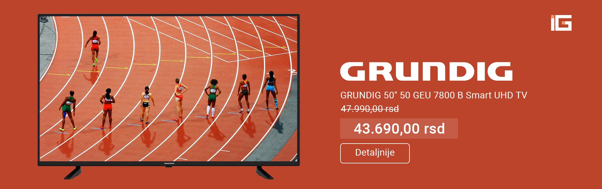 Akcija Grundig televizor  Smart TV 50''